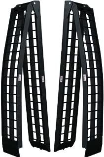 Titan Pair of 10' Long Folding Aluminum Arch ATV Ramps