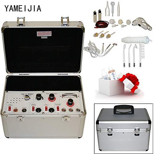 Guoz Tragbare 5 in 1 Multifunktionsgesicht Maschine: Galvanische, Hochfrequenz, Massagebürste, Saugglocke