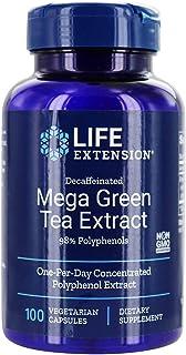 Life Extension - Mega Green Tea Extract (Decaffeinated) - 100 Vegetarian Capsules