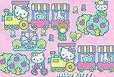 Puzzles Jigsaw Puzzle de Madera de Hello Kitty Cartel Animado de Dibujos Animados 1000 Piezas de Rompecabezas de Juguete Adulto del niño del Chica del cumpleaños (sin Marco) (Color : E)