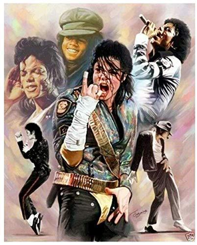 Puzzle homme Michael Jackson 1000 pièces pour adultes adolescents et enfants