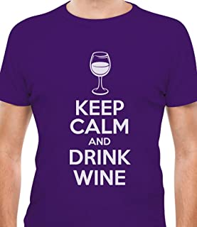 Tstars - Keep Calm and Drink Wine Funny Jewish Passover Holiday T-Shirt