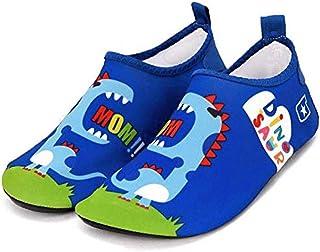 3d33ccf2d Bwiv Zapatos de Agua Niños Bebes Natación Zapatos de Niños Escarpines  Descalzos Calcetines Ligero Antideslizante para