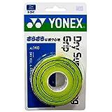 ヨネックス(YONEX) テニス バドミントン グリップテープ ドライスーパーストロンググリップ (3本入り) AC140 シトラスグリーン