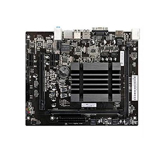 Allibuy Hauptplatine Voll Solid State Version V20 Intel J1900 Chip M-ATX Motherboard Mainboard kompatibel LGA 1150 (Farbe : Schwarz, Größe : Einheitsgröße)