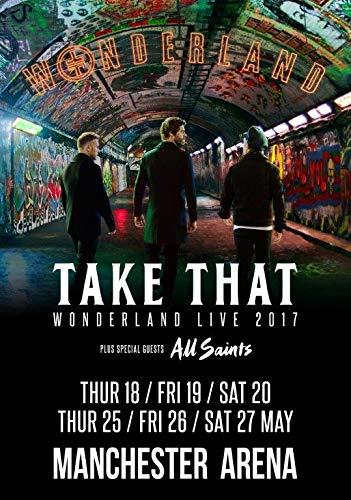 Generic Take That Wonderland Live Kann 2017: Manchester Arena Foto Print Poster Tour 12(a5-a4-a3), A4