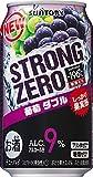 -196℃ ストロングゼロ 葡萄ダブル/サントリー350ml缶 350ML × 24缶
