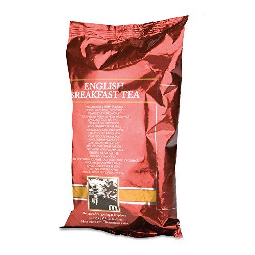 Englischer Frühstückstee von Amway - Tee für das Frühstück - 8 x 125 g Folienverpackung (40 Beutel je Folienbeutel) - Amway - (Art.-Nr.: 117591)