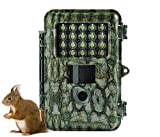 ScoutGuard Trail Camera Game Cam Wildlife Hunting Camera with Night Vision Waterproof Motion Activated 12MP 720P Infrared no Glow Home Farm Security Nature Monitoring