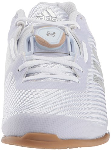 adidas Men's Leistung.16 II Cross Trainer, White/Metallic Silver/Gum, 8 M US