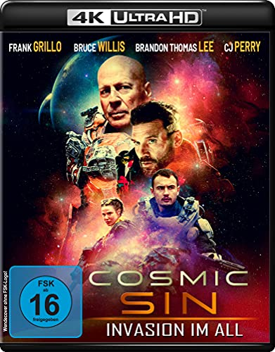 Cosmic Sin - Invasion im All (4K Ultra HD) [Blu-ray]