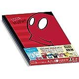 ナカバヤシ ロジカルエアーノート 軽量ノート B5 A罫  5冊パック ミッキー&ミニー パーツシリーズ 67945