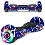 CHO Spider Wheels Series Hoverboard UL2272 Certified Hover Board Electric Scooter with Built in Speaker Smart Self Balancing Wheels (Spider Royal)