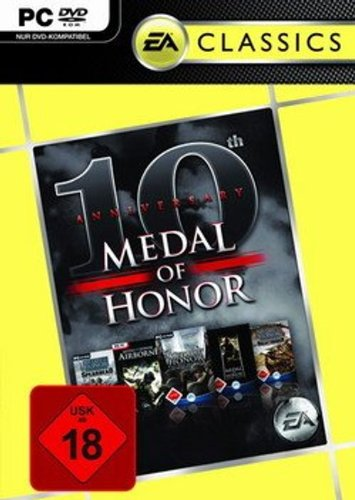 Electronic Arts Medal of Honor 10th Anniversary Bundle - Juego (PC, Acción, T (Teen))