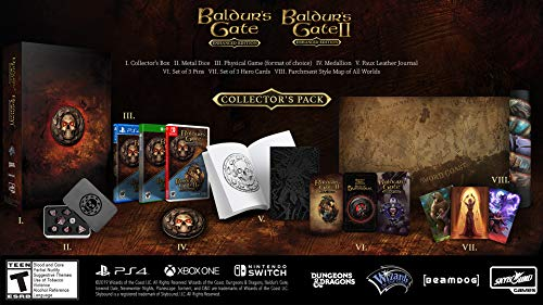 The Baldurs Gate Collector's Pack