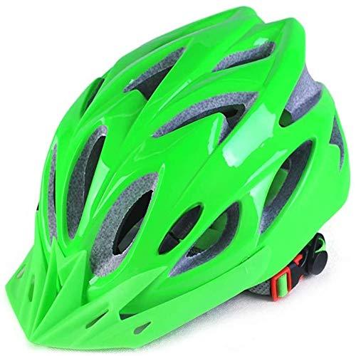 ZHXH Fahrradhelm Schutzhelm Ultraleichter Außenrollerschutz Insektennetz Abnehmbares Futter Ce-Zertifizierung (mehrfarbig)