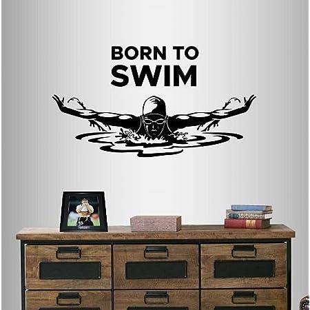 Vinyl Wall Decal Jet Ski Aquabike Water Sports Stickers Mural ig4171