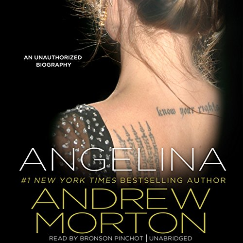 Angelina audiobook cover art