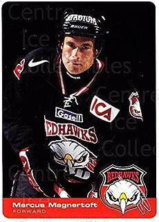 (CI) Marcus Magnertoft Hockey Card 2002-03 Swedish Malmo Redhawks Team Issue 7 Marcus Magnertoft