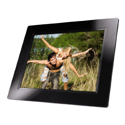 Hama Basic Digitaler Bilderrahmen (24,6 cm (9,7 Zoll), 32MB Speicher, SD-Kartenleser, USB 2.0) schwarz