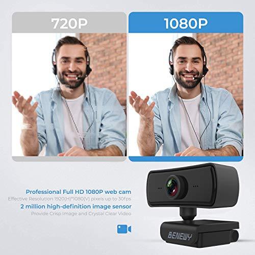 Benewy C3 USB Webcam 1080p (Full-HD)