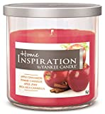 Home Inspiration by–Pomme Cannelle yankee candle–Bougie parfumée dans...