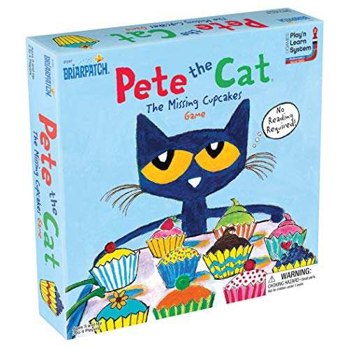 Pete The Cat The Missing Cupcakes Game Based On The Popular Book Series