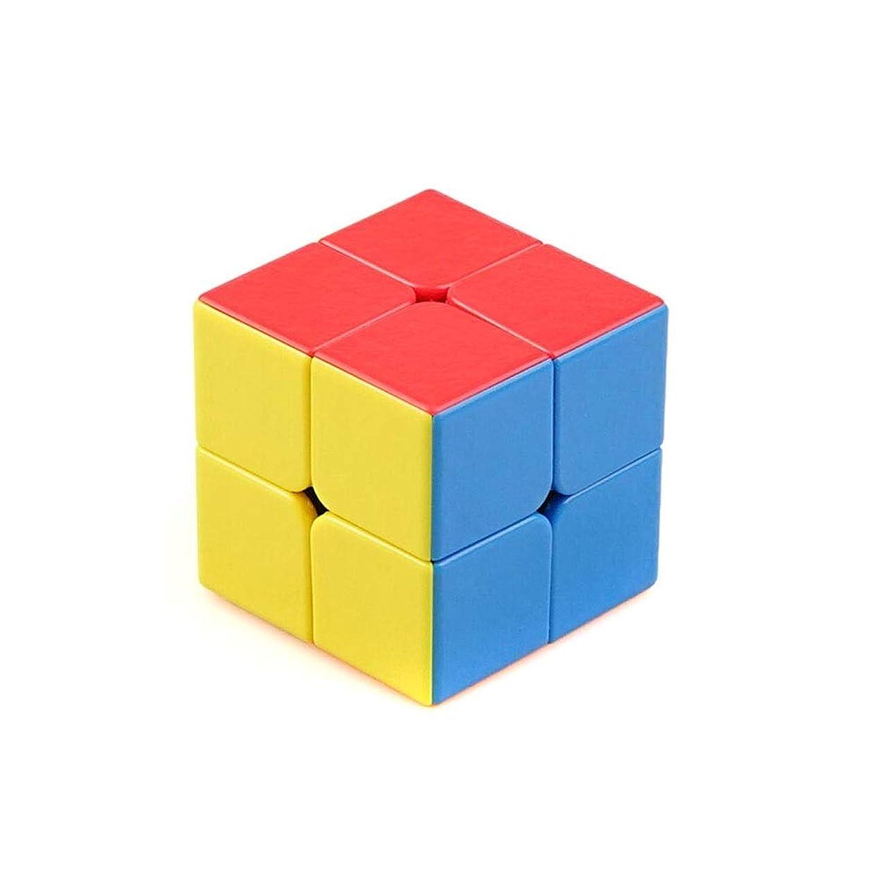 気になるスラック地震Jinnuotong ルービックキューブ、チリの高級プラスチック素材で作られたルービックキューブ、スタイリッシュな外観、使いやすい(2次/ 3次/ 4次/ 5次) エレガントで快適 (Edition : Two-order)