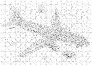 Media Storehouse 252 Piece Puzzle of Airbus A320 Cutaway Drawing (4499470)
