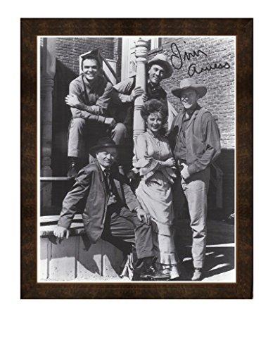 Gatsbe Exchange Framed Print Gunsmoke Cast Marshal Dillon Burt Reynolds Kitty Fester and Doc