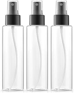 Fine Mist Spray Bottles 4 oz, BPA-FREE, PETE1 Plastic, Pack of 3