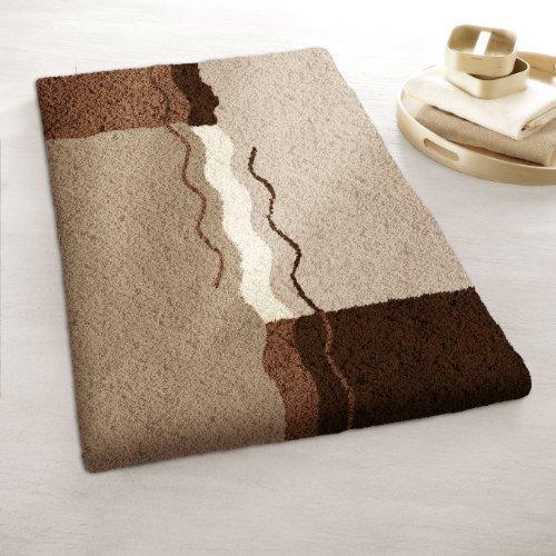 Kleine Wolke 5503225129 Vanessa badmat polyacryl bruin
