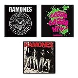 Ramones 3 x Kühlschrankmagnet band logo Nue offiziell Gift
