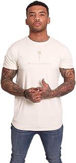 Rose London S/S Basic Print T-Shirt Stone