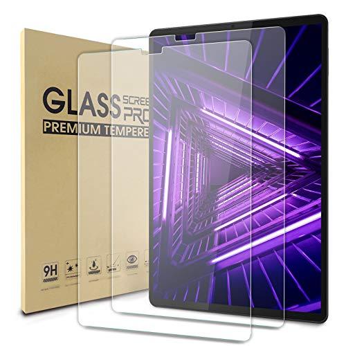 WDCD 2 Pack Panzerglas Schutzfolie kompatibel mit Lenovo Tab M10 Plus 2020 103 25D Tempered Glass Screen Protector 9H HardnessAnti ScratchBubble Free