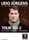 Tour 2012 Tourplakat - Udo Jürgens Poster 9219