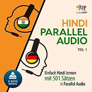 Hindi Parallel Audio - Einfach Hindi lernen mit 501 Sätzen in Parallel Audio - Teil 1 Titelbild