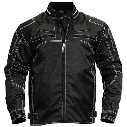 German Wear, Motorradjacke textilien Kombi Jacke schwarz, 66