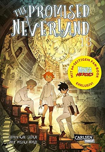 The Promised Neverland 13 – Limitierte Edition: mit 64-seitigem Fan-Book