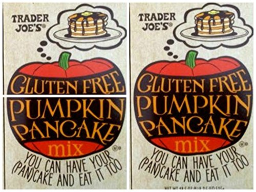 Trader Joe's Gluten Free Pumpkin Pancake Mix, 18.5 Oz (Pack of 3)