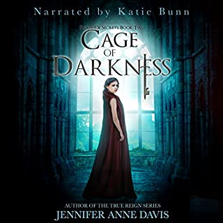 Cage of Darkness     Reign of Secrets, Book 2              Written by:                                                                                                                                 Jennifer Anne Davis                               Narrated by:                                                                                                                                 Katie Bunn                      Length: 10 hrs and 21 mins     Not rated yet     Overall 0.0