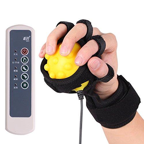FEI Meilleur massage à la maison Électrique Hot Hand Massager Training Ball Équipement de réadaptation à main Vibration massage chaleur infrarouge utilisation pratique (Couleur : C(Power))