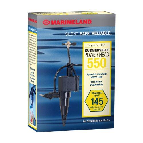 Marineland PH0550 Penguin Submersible Power Head Pump for Aquariums, 145 GPH