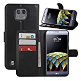 HualuBro LG X Cam Case, Premium PU Leather Wallet Flip