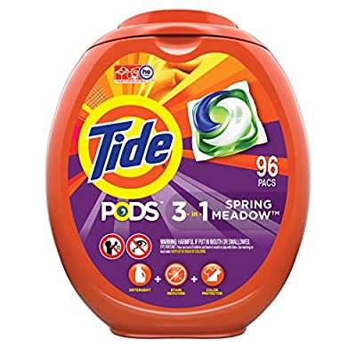Tide PODS Laundry Detergent Liquid, Spring Meadow Scent