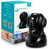 3MP Caméra Surveillance WiFi, HeimVision 1536P Caméra IP WiFi Intérieur, Pivotant 350°/100°, Détection de Mouvement, Vision Nocturne, Audio Bidirectionnel et Cloud Service, Compatible avec Alexa