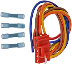 APDTY 116703 Blower Motor Resistor Wiring Harness Pigtail Connector Plug Fits Select 2006-2010 Hummer H3 / Pontiac Solstice/Saturn SKY (Replaces 25949869)
