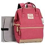 Wide Open Designer Baby Diaper Backpack By Moskka¨CNappy Tote Bag w/ Stroller Straps