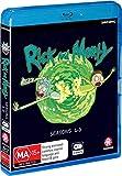 Rick and Morty: Season 1 - 2 - 3 Box Set Blu-Ray Collection 1-3