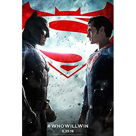 Batman VS Superman Poster Art Silk Superhero Movie Poster 13x20 24x36inch J307